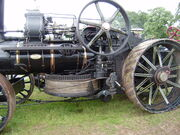 Fowler Ploughing engine 15231 drum