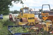 Aveling-Barford Compactor at SE Davis 11 IMG 9216