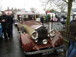 Rolls Royce? - ELM 873 at Sandbach 08 - P4170138