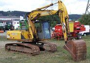 Sennebogen excavator