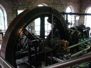 Petrie of Rochdale steam engine at New Lanark - DSC03085