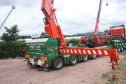 Nooteboom trailer Fassi crane at welland 2010IMG 8328