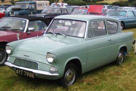 Ford Anglia basic reg 1964