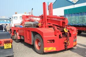 Foden 6x2 breakdown truck PMB 149B (rear) at Donington 09 - IMG 6122small