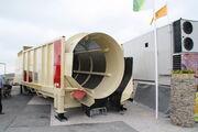 Rotary barrel screener at hillhead 2010 - IMG 1725