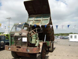 Foden site Dump truck