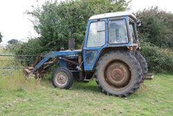 Ford 4100 loader - NKT 932R at Maldon 11 - IMG 5240