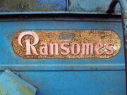 Ransomes badge