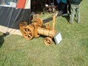Wooden Steam Engine at Belvoir - DSCF0262
