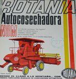 Rotania N 8 M combine brochure