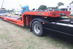 King machinery trailer - IMG 9053