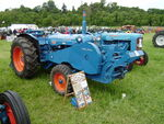 Fordson Power Major - RFX 814 with Loader and Winch at Belvoir 08 - P5180410