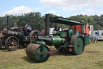 Aveling Barford no AE998 Roller No 109 reg DTM 540 at Elvaston 09 - IMG 6688