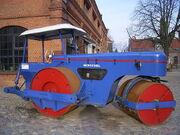 Henschel road roller MW 12 in Museum of Arbeit in Hamburg