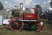 Shand-Mason steam fire pump Thorney at Hollowell 2011 - Picture 030