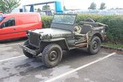 Willis Jeep - reg 5773 U restored at LeedsHCVS 09 - IMG 4026