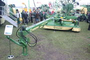 Krone Easi Cut 3210 CV trailed mower at lamma 2010 - IMG 7593
