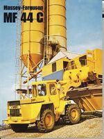 MF 44c wheel loader