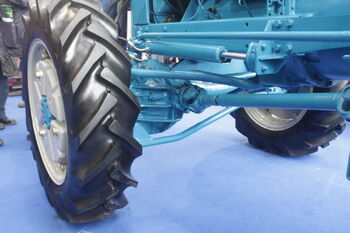 Roadless super Major - 779 EAH axle and power steering - IMG 3642
