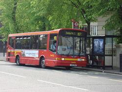 London Bus route 187