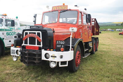 Scammell Contractor KAX 395P of 1976 - Renown - at Scammel Gathering 09 - IMG 9284