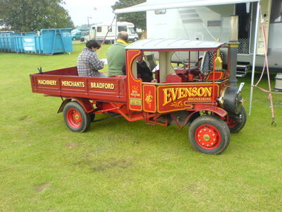 Foden Wagon model - Evenson at Lincoln 08 - DSC00035