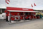 Cummins Engines exhibition unit at Hillhead 2012 - IMG 0931