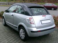 Citroen C3 Pluriel rear 20071104