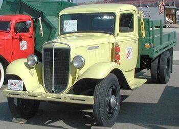 International 1936 CS-30