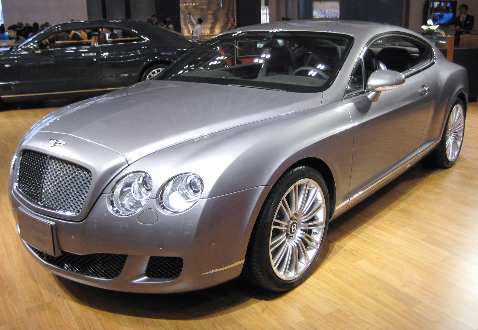 Bentley continental gt tractor construction plant wiki file bentley continental gt speed vanachro Gallery