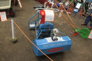 British Anzani lawn mower -award wining restoration-IMG 2972