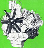 International DVT-573B engine 1971