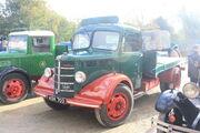 Bedford flatbed truck KSK 703 perkins engine at NMM - IMG 2824