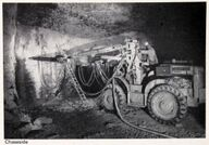 A 1960s Chaseside Mining Drilling Rig