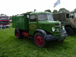 Bedford LYA 258 tipper with Perkins engine -P7270168