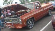 '77 Chevrolet C-K Cheyenne (Centropolis Laval '10)