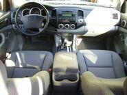 06 Toyota Tacoma interior