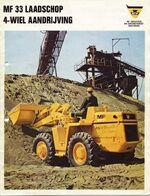 MF 33 wheel loader