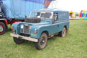 Land Rover Series II 109 reg 387 UXE at Lister Tyndale 09 - IMG 4769