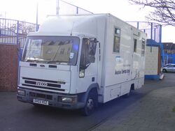 Iveco Cargo NHS Mobile Dental unit - Flickr - sludgegulper