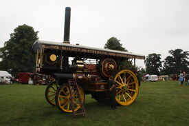 Fowler no.15657 - The Iron Maiden - (FX6661) at Old Warden 2013 - IMG 9713