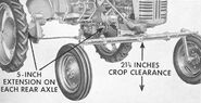 McCormick Farmall Cub High-Clearance 1955