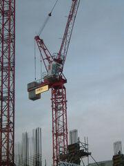 Wolff Tower crane luffing jib DSCF0349-1