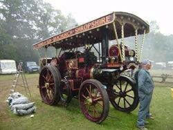 Garrett showmans engine Lady Sarah