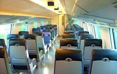InterCity2 - passenger car interior