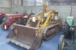 Massey Ferguson MF 244 Drott with Backhoe (333) at Malvern 09 - IMG 5747
