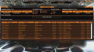 Elite Dangerous TCE MKII Route Finder 1 of 2