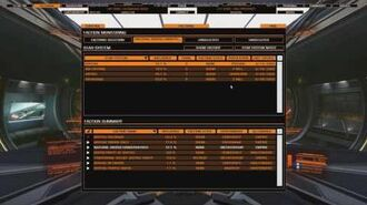 Elite Dangerous Trade Computer Extension MKII Faction Tracking Panel