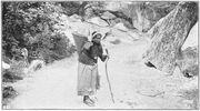 Indian woman yosemite Fiske