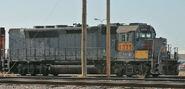 EMD GP40P-2